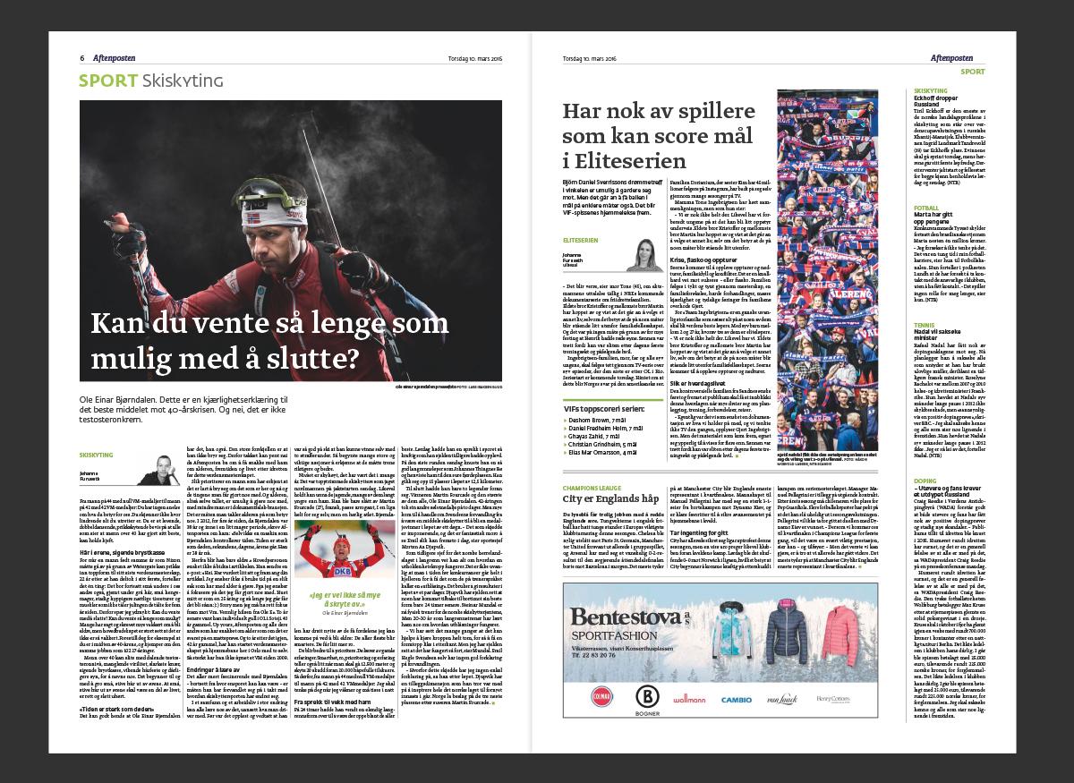 Aftenposten redesign